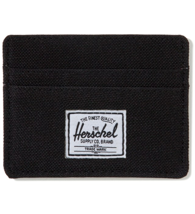 Black Charlie Card Holder