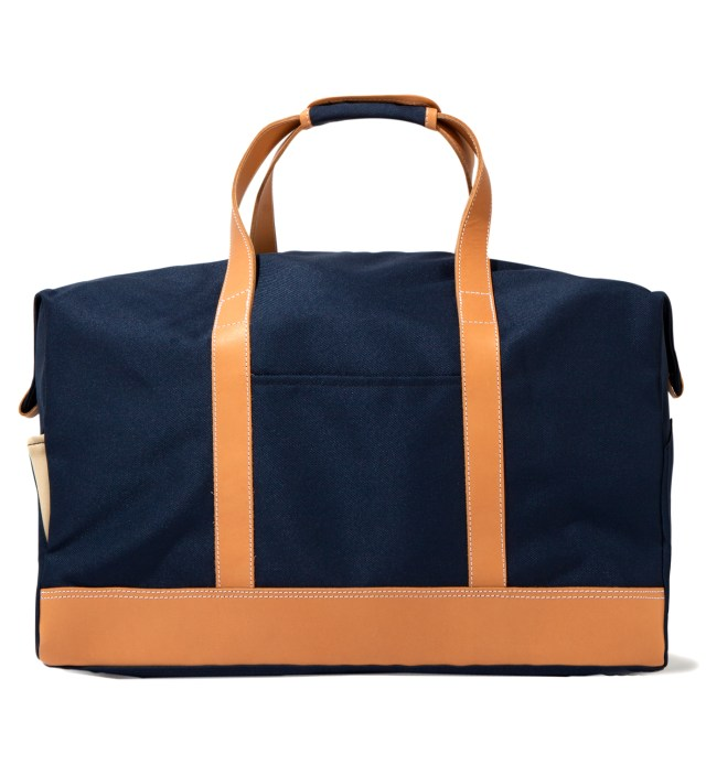 Navy Boston Bag