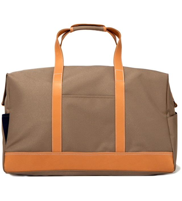 Beige Boston Bag