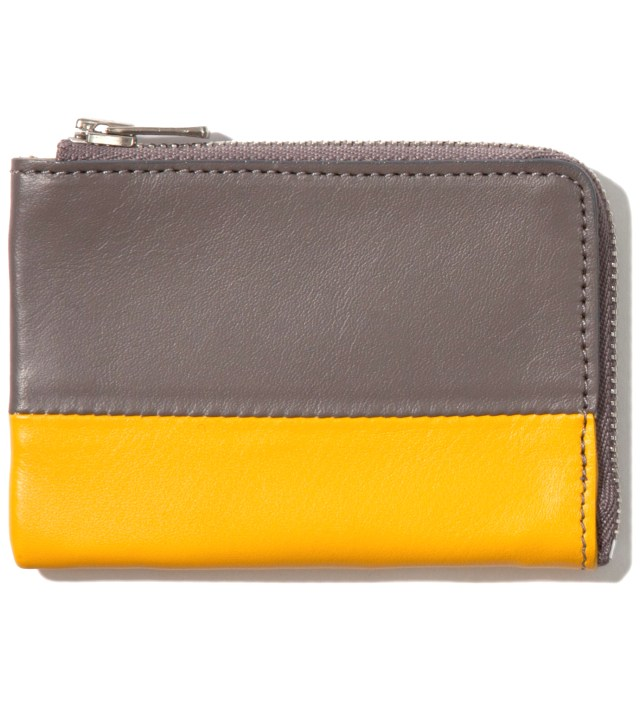 Gray/Yellow Card Case