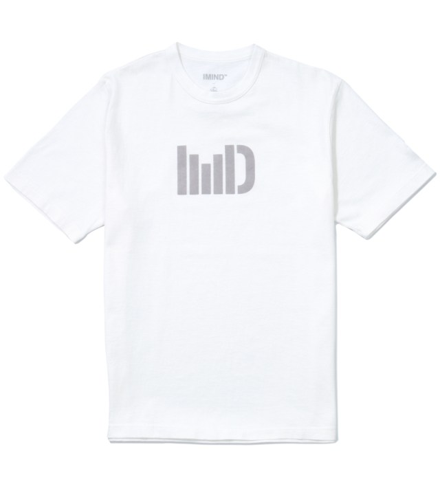 White IMD Logo T-Shirt
