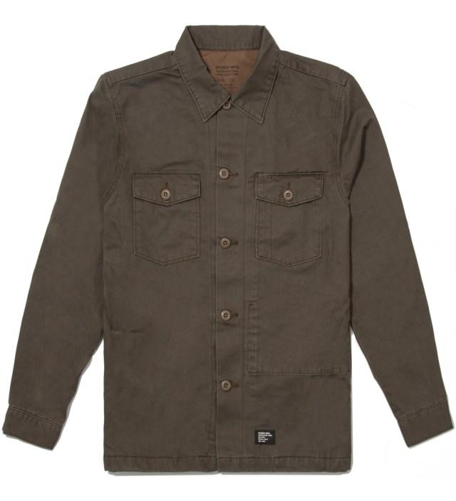 Olive Troops Shirt