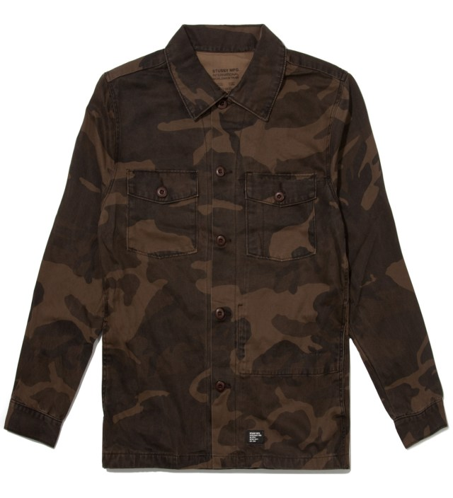 Brown Camo Troops Shirt