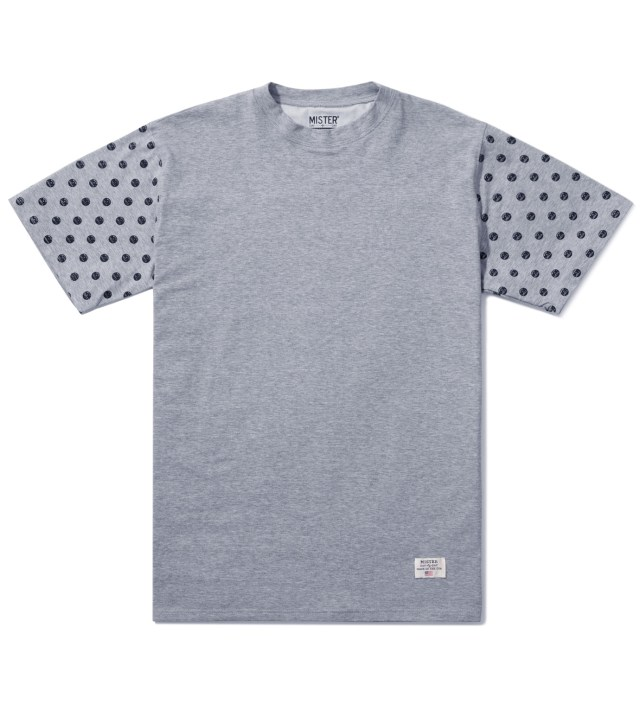 Grey/Black Print Mr. Dots Immediate T-Shirt