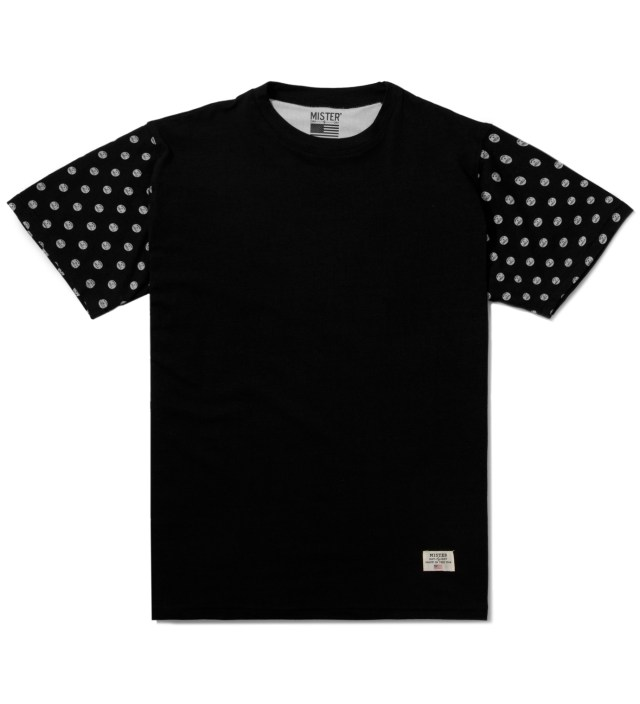 Black/White Print Mr. Dots Immediate T-Shirt