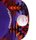 Toronto Raptors Purple Navajo Strap-Back Cap