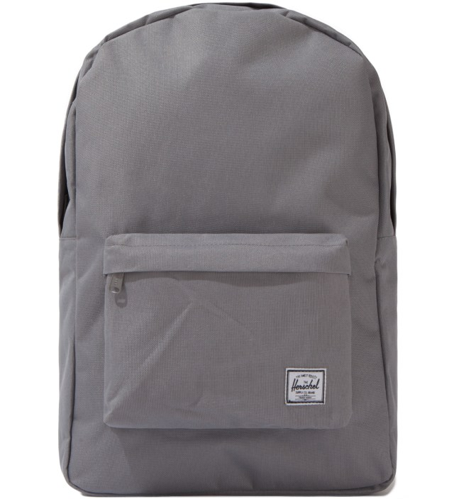 Grey Classic Backpack