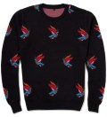 Midnite Navy Freedom Jaquard Knit Sweater