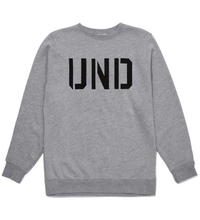 Heather Grey UND Crewneck