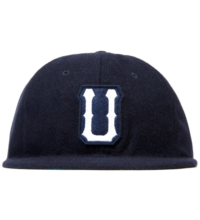 Navy Raised U Ebbets Ballcap