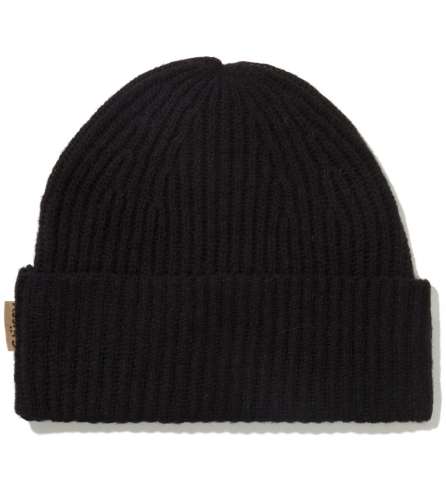 Black Striker Beanie