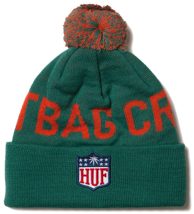 Teal Hail Mary Beanie