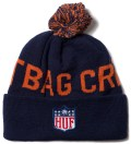 Navy Hail Mary Beanie