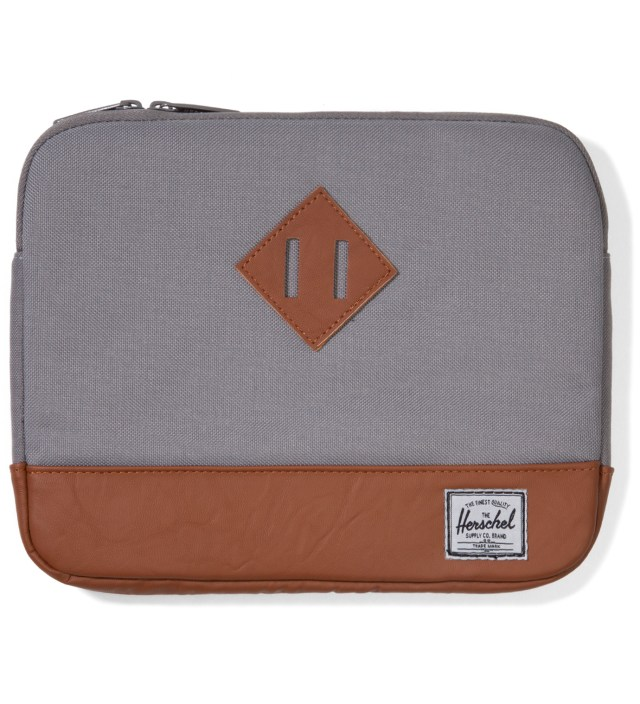 Grey Heritage iPad Sleeve