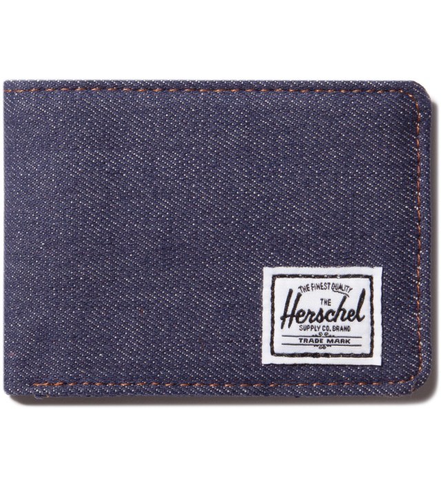 Dark Denim Hank Wallet