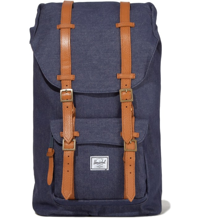 Dark Denim Little America Canvas Backpack