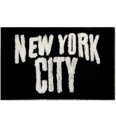 SECOND LAB Black New York City Rug Picutre
