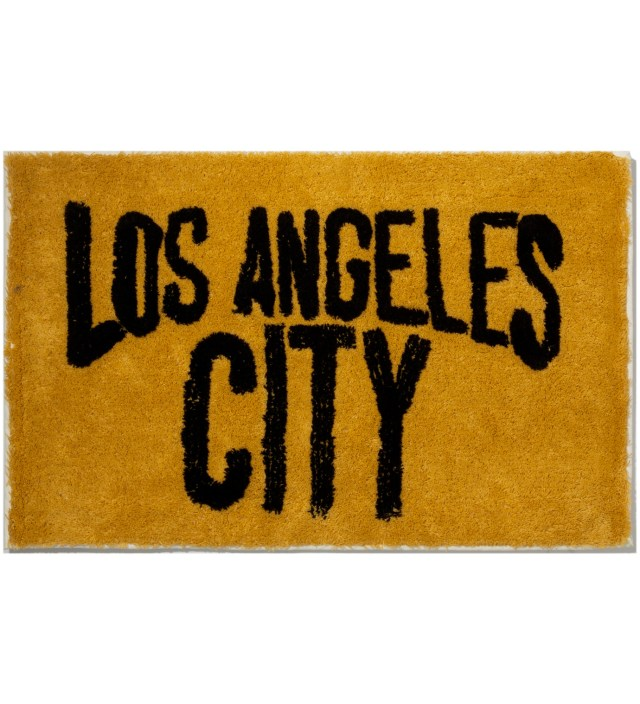 Mustard Los Angeles City Rug