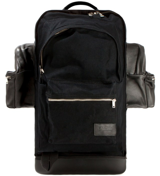 Eastpak KRISVANASSCHE Black Cotton Backpack XXL