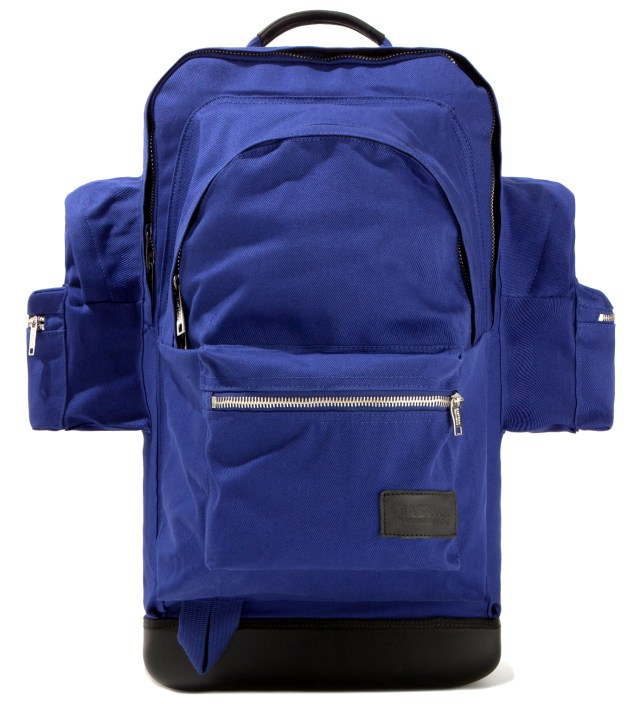 Eastpak KRISVANASSCHE Blue Cotton Backpack XXL