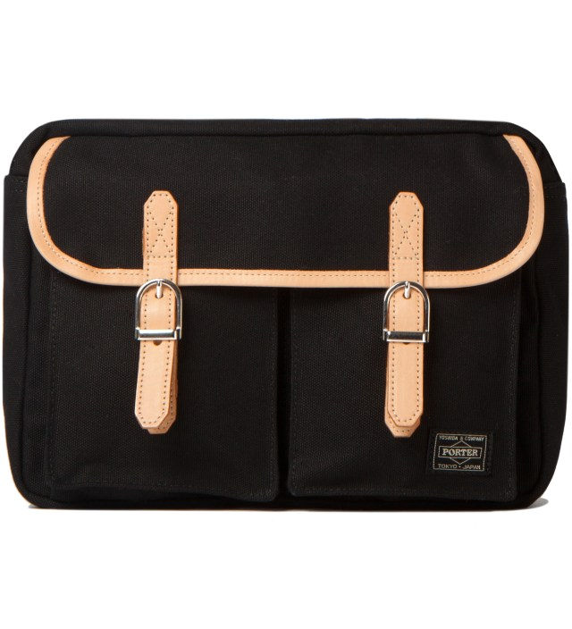 Black LX x Canvas Shoulder Bag