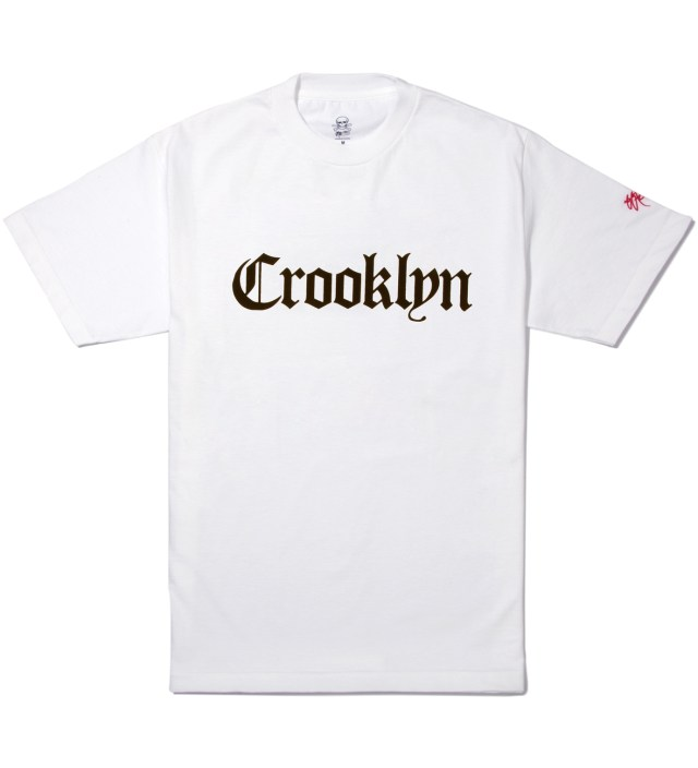 White Crooklyn T-Shirt