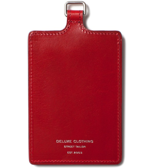 Red Badge Card Case