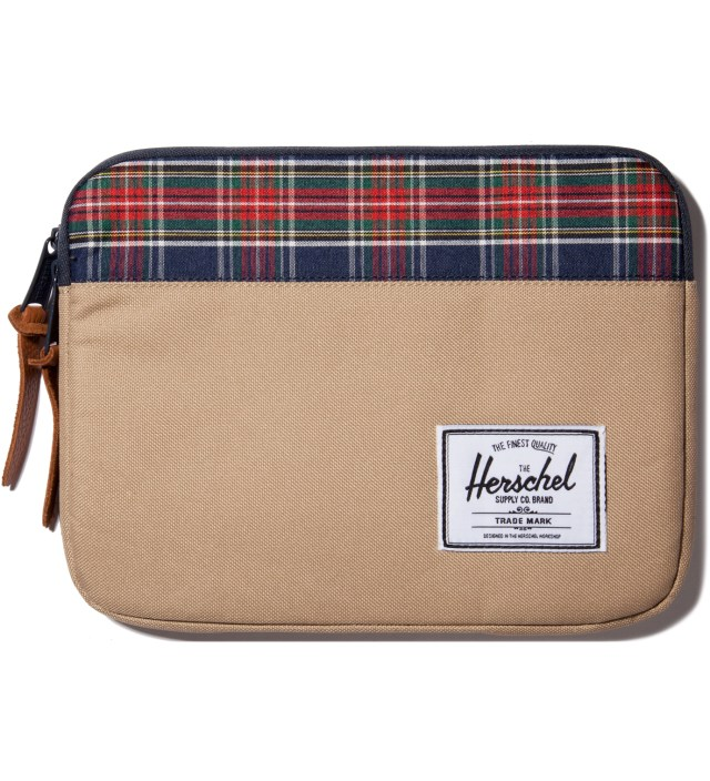 Khaki Anchor iPad Sleeve