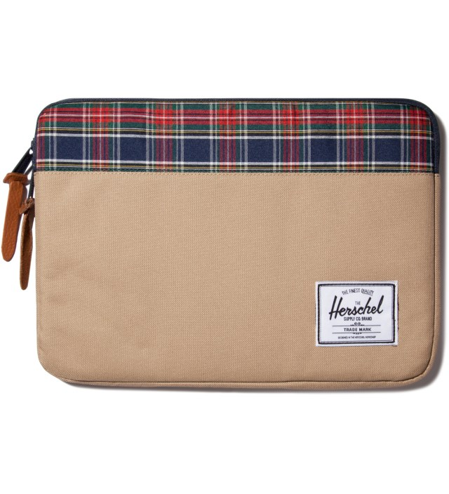 "Khaki Anchor 13"" Macbook Sleeve"