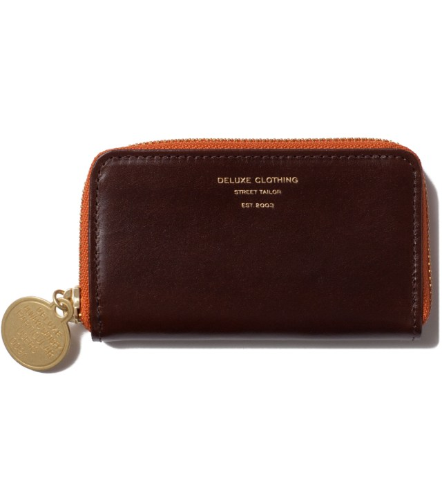 Brown Heads Or Tails Coin Purse