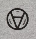 Heather Grey V Anarchy T-Shirt