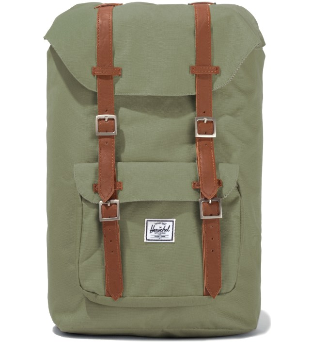 Olive Drab Little America Backpack