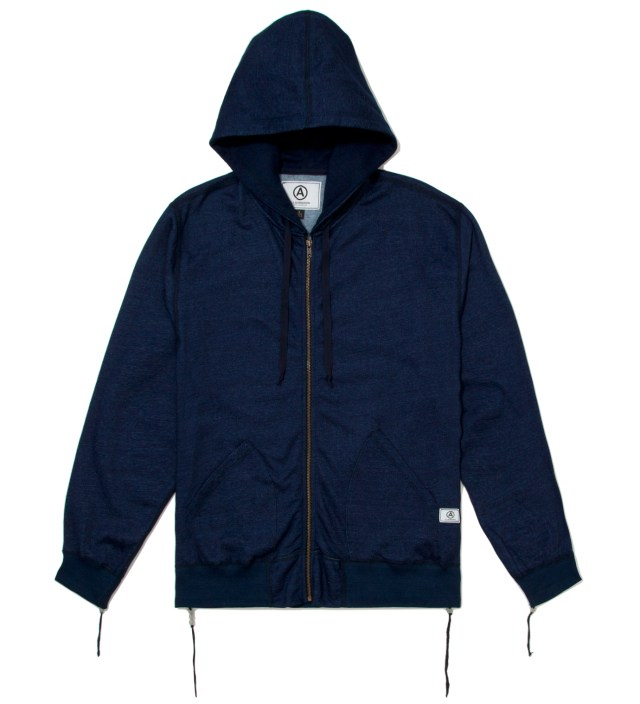 Navy Zip Up