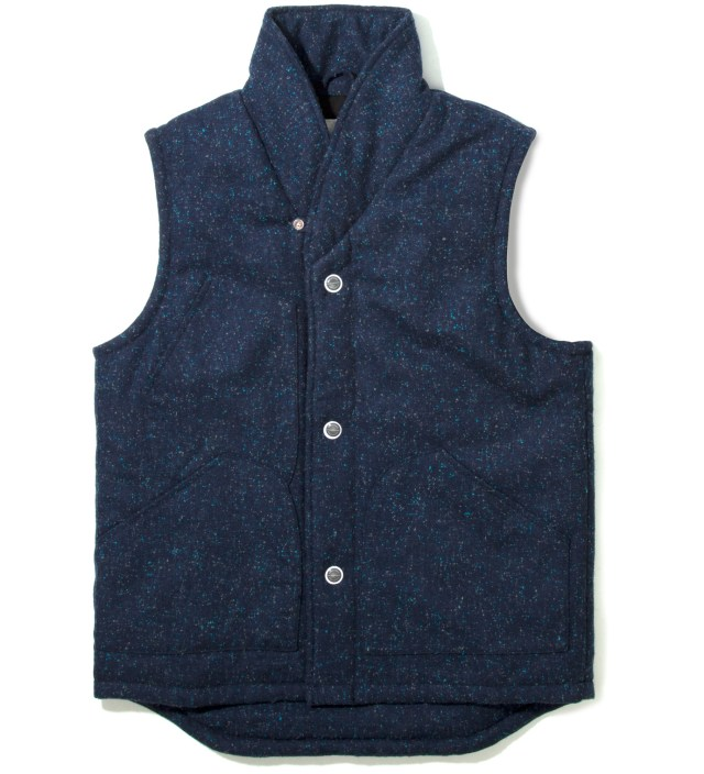 Navy Tri Pocket Saver Vest