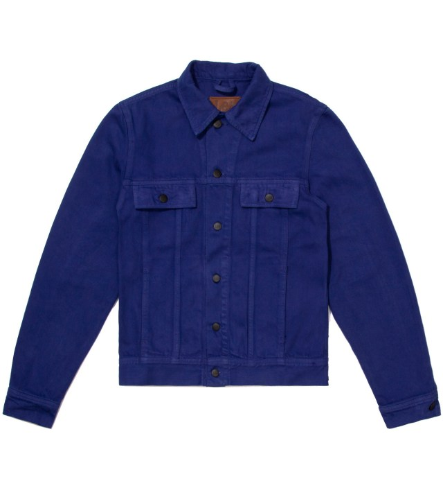 Lee® KRISVANASSCHE Blue Denim Inspired Blouson Jacket