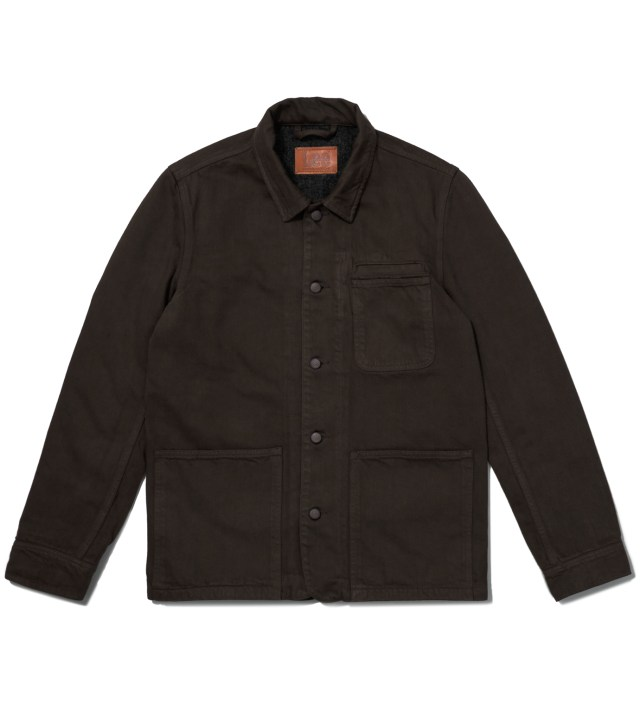 Lee® KRISVANASSCHE Dark Brown Workwear Jacket