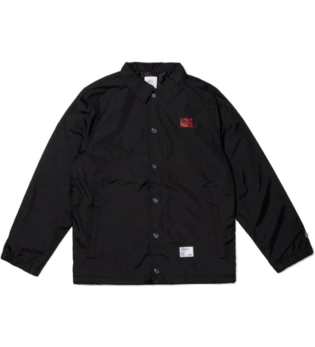 "Black ""Eric"" Coach Jacket"