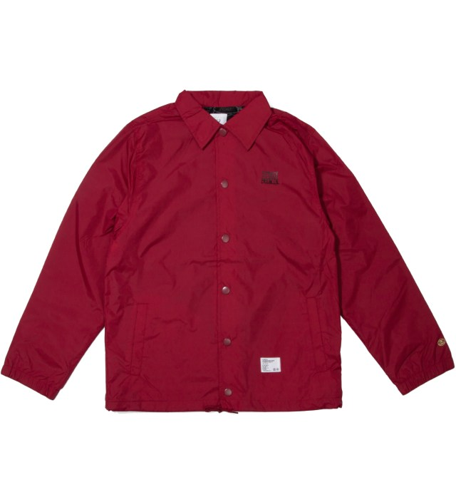 "Burgundy ""Eric"" Coach Jacket"
