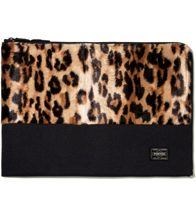 Leopard Mombasa Document Case (L)