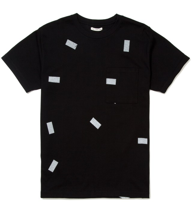Black The Davinder Root Retro T-Shirt