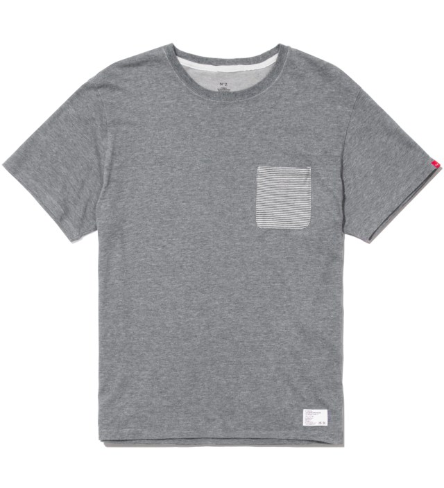 "Stussy x The Heartbreakers A. Grey ""Lee"" Pocket T-Shirt"