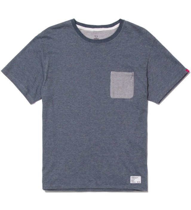 "Stussy x The Heartbreakers Blue ""Lee"" Pocket T-Shirt"