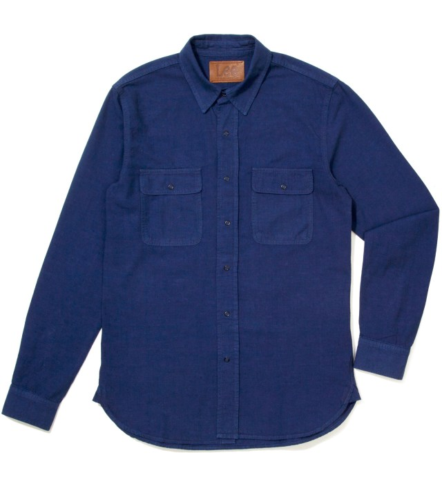 Lee® KRISVANASSCHE Blue Denim Inspired Shirt