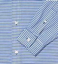Blue Border Stripe Shirt