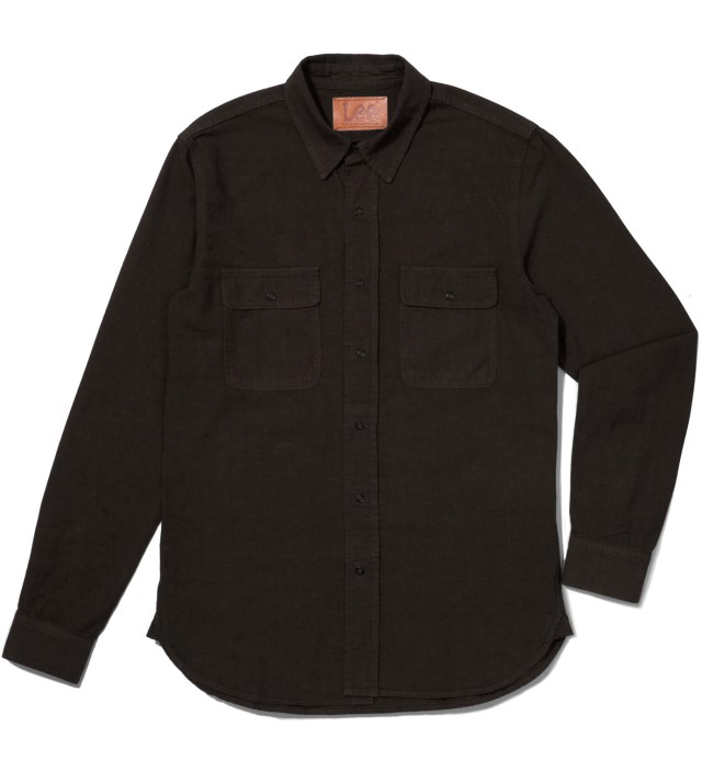 Lee® KRISVANASSCHE Dark Brown Denim Inspired Shirt