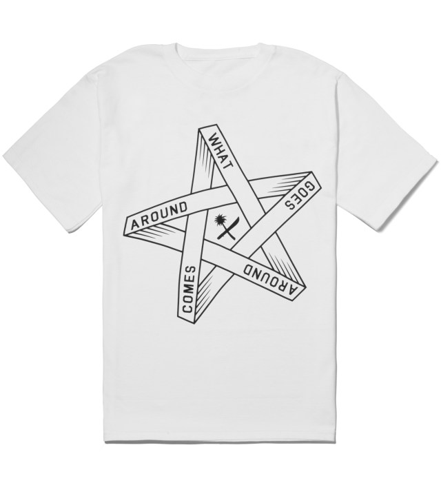 White Goes Around T-Shirt