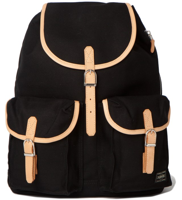 Black LX x Canvas Ruck Sack