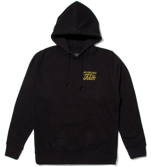 Black Goes Around Hoodie