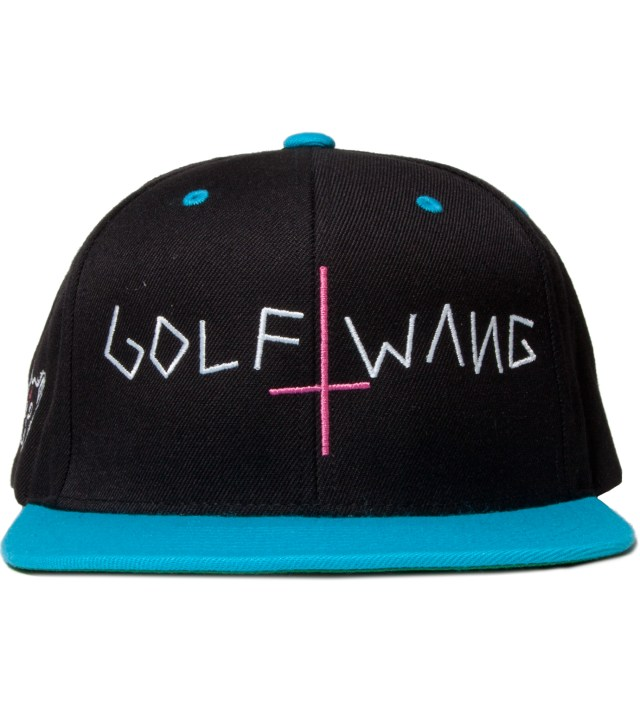 Navy/Turquoise Golf Wang Snapback Cap