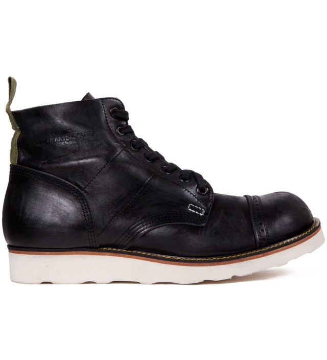 "Stussy x The Heartbreaker Black ""Vincent"" Parachute Boots"